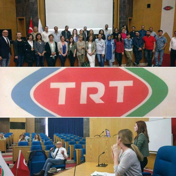Muzikotek TRT Sempozyumunda!