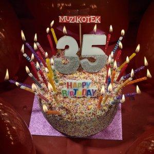 Bugün MUZIKOTEK 35 yaşında!!!